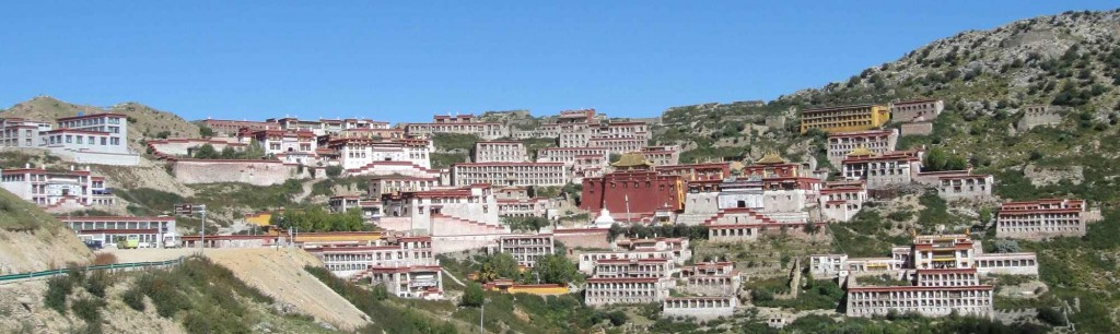 Ganden Monastery the seat of His Holiness the Ganden Tripa