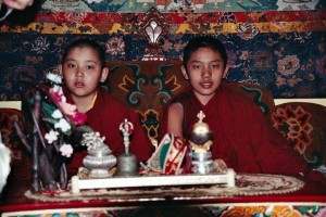 Ganden Tripa reincarnation His Holiness Ling Rinpoche and His Holiness Trijang Rinpoche